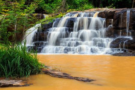 Thep Pha Na waterfall in Chaiyaphum province, Thailand