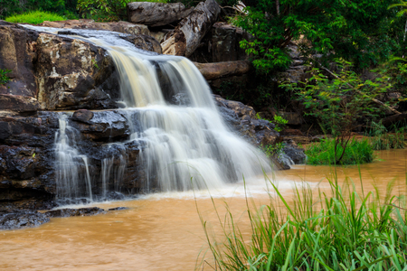 Thep Pha Na waterfall in Chaiyaphum province, Thailand