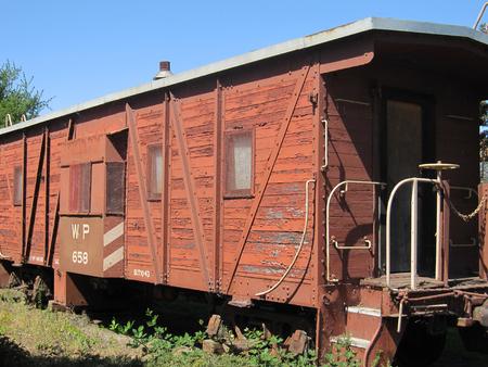 Railroad Car Reklamní fotografie