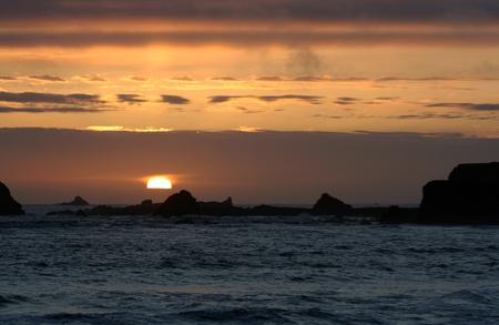 太平洋岸サンセット
