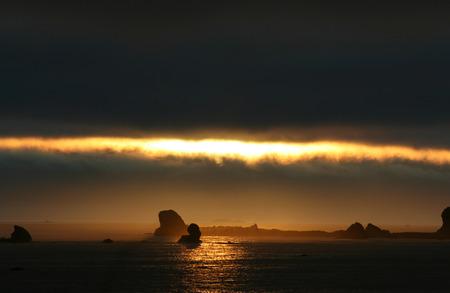 Crescent City Sunset