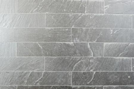 quartzite: grey rock wall Stock Photo