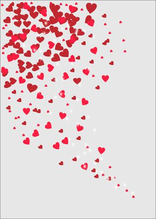Valentines day background with Heart. Vector illustration Illustration