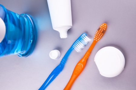 dental care health objects composition