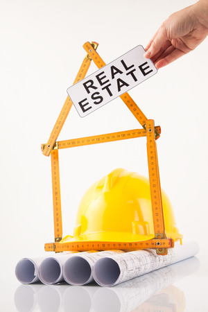 architectural drawings real estate sign