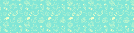 Summer background with copyspace. Vector.