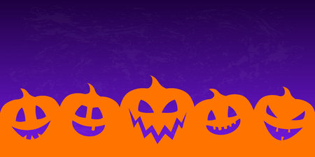 Concept of background for Halloween. Vector.