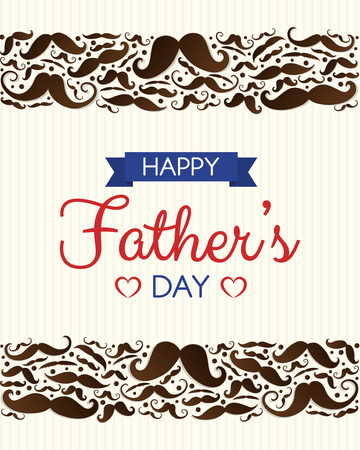 Concept of poster for Father's Day. Vector. Archivio Fotografico - 103696111