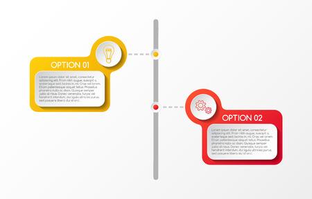 Business infographic template. Vector. Illusztráció