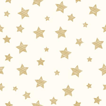 Conception d'un papier peint avec des étoiles. Vecteur.