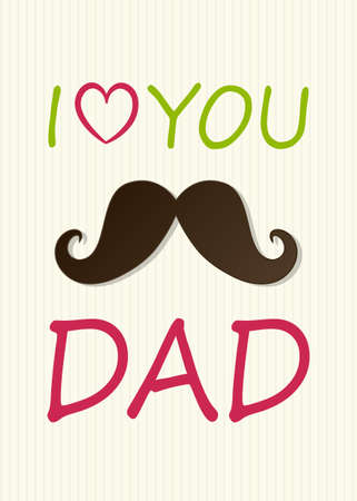 Design of background for Father's Day with greeting