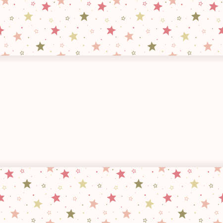 Concept of a Christmas background with stars. Vector