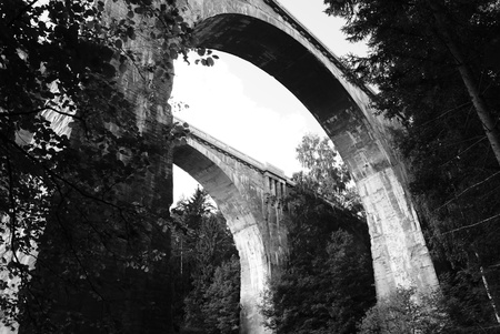viaducts: Old two Viaducts