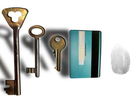 tipos de llaves Foto de archivo - 1826693