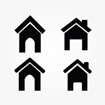 icono inicio: icono Vectores