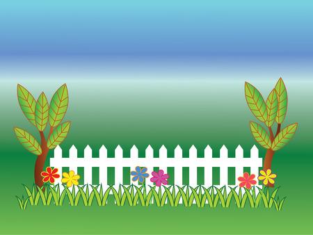 hillbilly: fence wooden