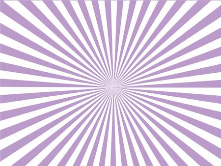 Sun Sunburst-patroon. Stock Illustratie