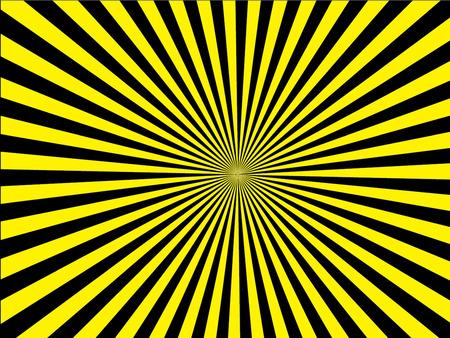 sunburst: Sun Sunburst Pattern.  Illustration