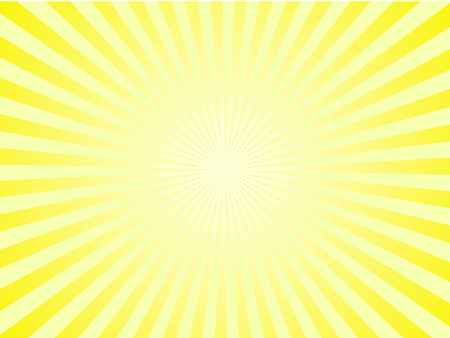 Sun Sunburst Pattern.  Stock Illustratie