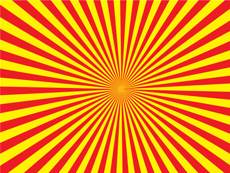 Zon Sunburst Pattern. zonnestraal vector.sunburst retro.vintage zonnestraal. Vector illustratie