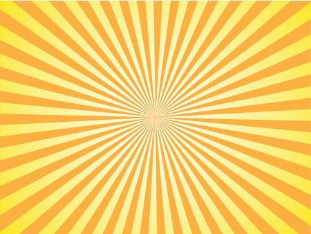 太陽サンバースト パターン。サンバースト vector.sunburst retro.vintage サンバースト。ベクトル図