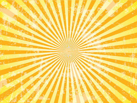 Grunge Sun Sunburst Pattern. Vector illustration, sunburst vector,sunburst retro,vintage sunburst Иллюстрация