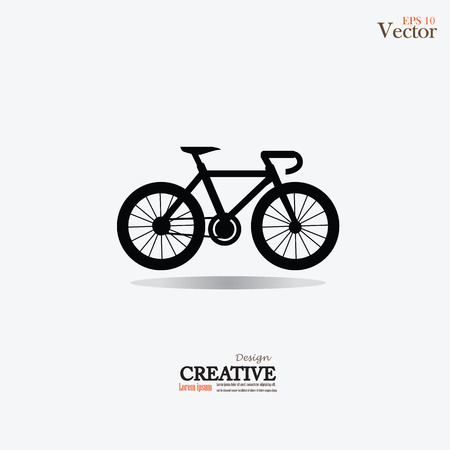 Bicycle icon.vector illustration. Illustration