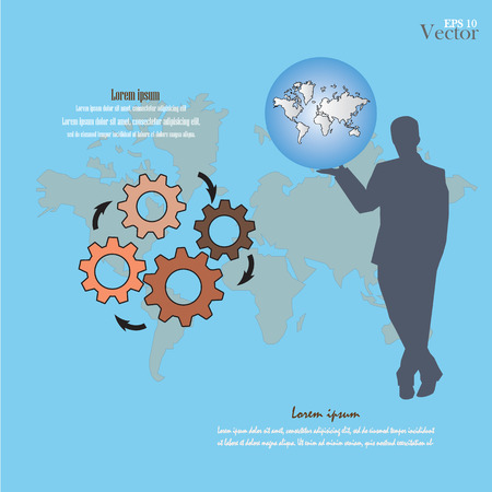 idealistic: business concept icons .business icon.vector illustration.