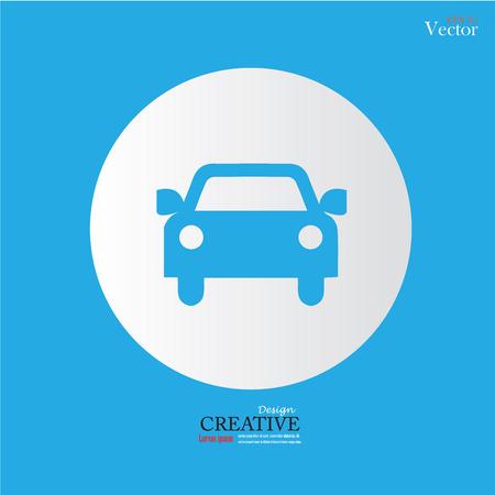 car: Car .car icon. Vector illustration.
