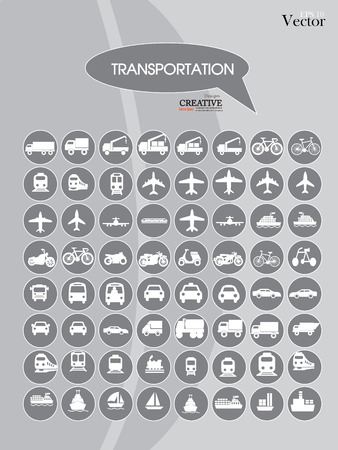 Transport icons.transportation .logistics.logistic icon.vector illustration. 일러스트