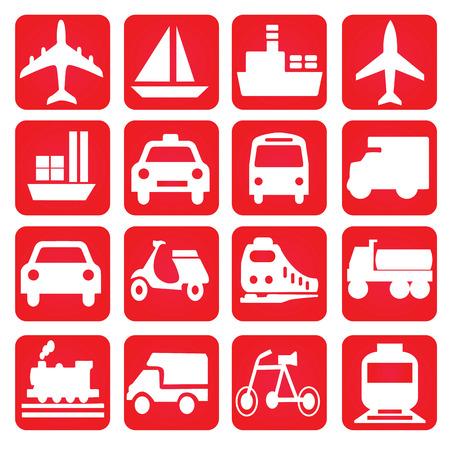 транспорт: Транспорт icons.transportation .logistics.logistic icon.vector иллюстрации.