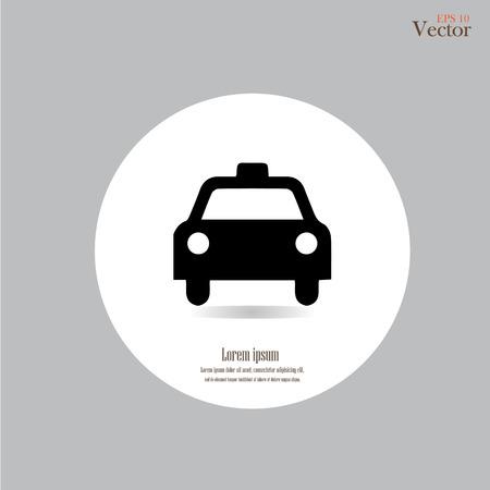 Taxi Icon.taxi icon vector.taxi.vector illustration. 일러스트