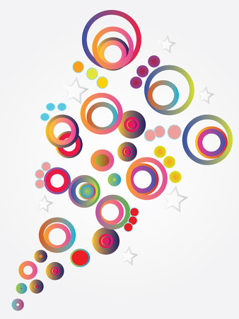 bubble background: colorful bubble background,background,pattern.vector illustration Illustration