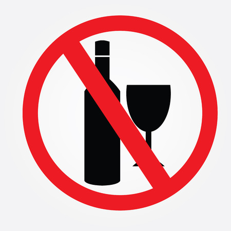 no: No alcohol drinks.
