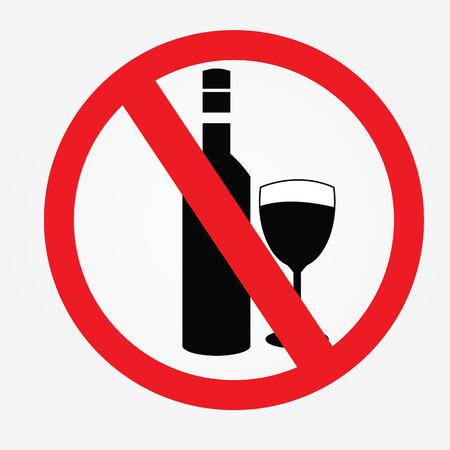 spirituous beverages: No alcohol drinks.