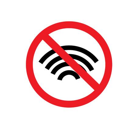 refrain: No phone vector sign