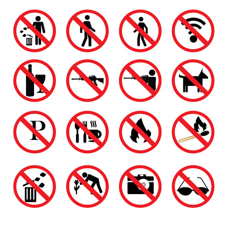outlaw: no hunting sign vector,no weapon sign, Stop hunting,prohibit sign Illustration
