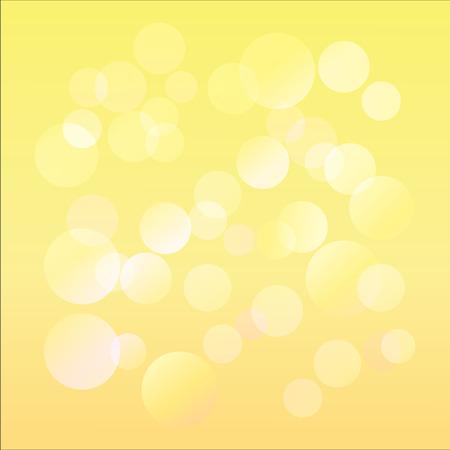 Festive background with defocused lights.bokeh background.vector illustration Standard-Bild