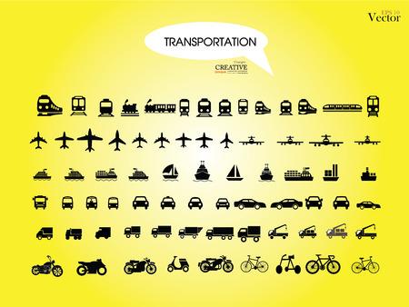transporte: Transportes icons.transportation .logistics.logistic ilustra Ilustração