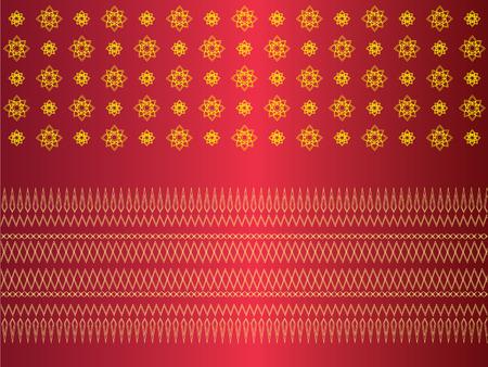 vintage traditional thai line art.line thai pattern clothes.vector illustration.