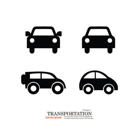 Car .car icon. Transportation icon.Vector illustration. 일러스트