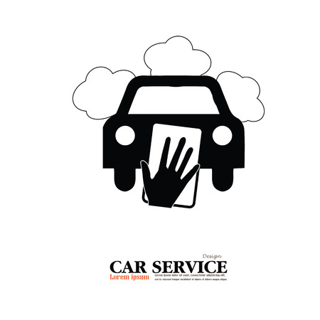 car wash: Car wash icon.car service.vector illustration.