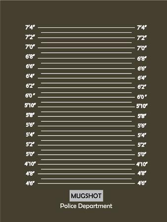 mugshot: Police lineup or mugshot background,mugshot vector.vector illustration