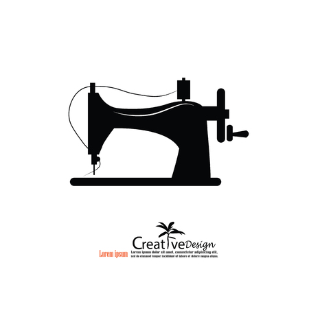 sewing machine.vector illustration.