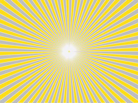 Zon Sunburst Patroon. Sunburst background.sunburst vector.sunburst retro.vintage zonnestraal. Vector illustratie. Vector Illustratie