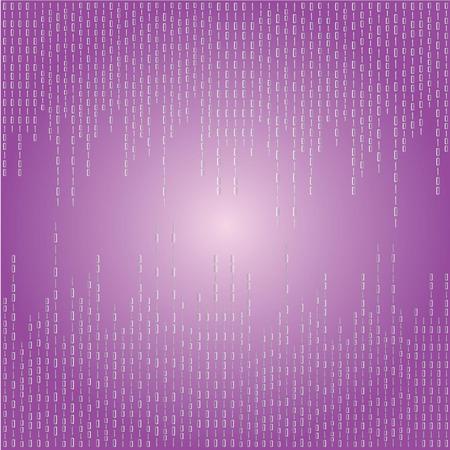 Matrix background.purple digital background.vector illustration.