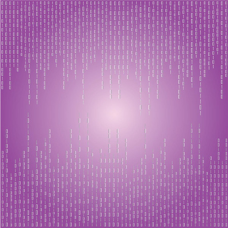 Matrix background.purple digital background.vector illustration.