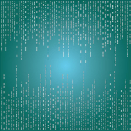 matrix: Matrix background.green digital background.vector illustration.