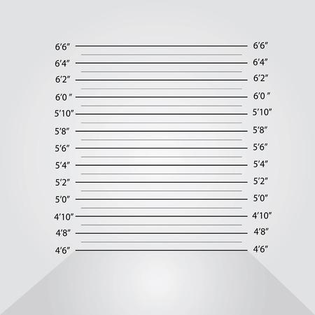 Police lineup or mugshot background,mugshot vector.vector illustration Vektorové ilustrace