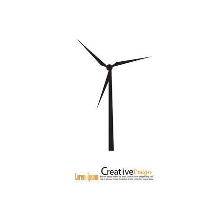 windfarm: windturbine.windturbine icon.windmills for electric power production.
